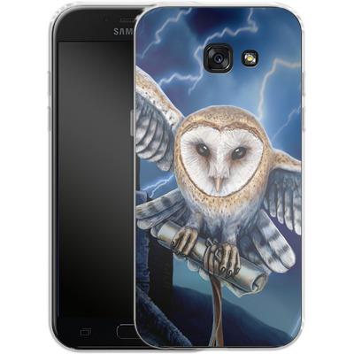 Samsung Galaxy A5 (2017) Silikon Handyhuelle - Heart of The Storm von Lisa Parker