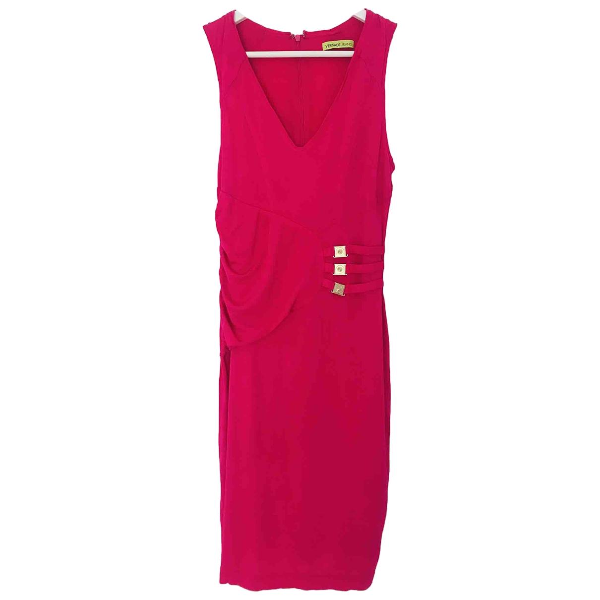 Versace Jeans \N Pink dress for Women 46 IT