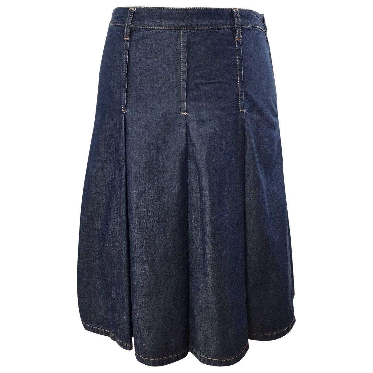 Miu Miu \N Blue Denim - Jeans skirt for Women M International