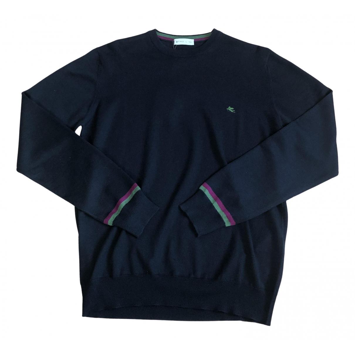 Etro - Pulls.Gilets.Sweats   pour homme en coton - noir