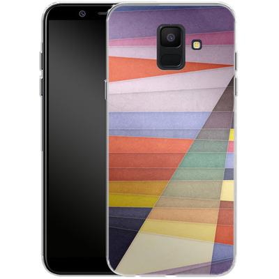Samsung Galaxy A6 Silikon Handyhuelle - You Were Trying Too Hard von Georgiana Teseleanu