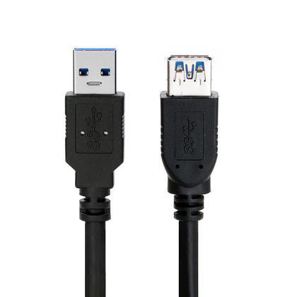 Câble d'extension USB 3.0 A mâle vers A haute qualité - noir - 6pi - PrimeCables®