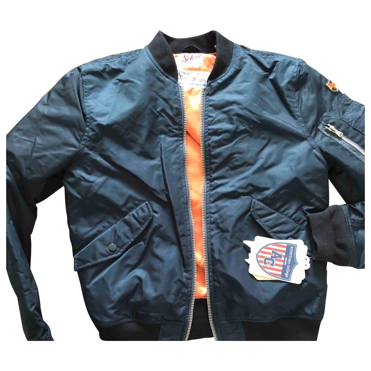 Schott \N Blue jacket  for Men M International