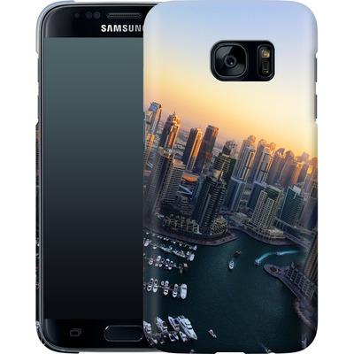 Samsung Galaxy S7 Smartphone Huelle - Dubai Skyline von Omid Scheybani