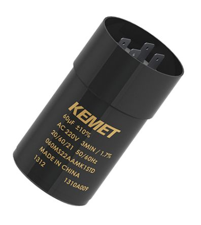 KEMET 80μF Electrolytic Capacitor 260V ac, Snap-In - 080MS26ACMA1STD (72)