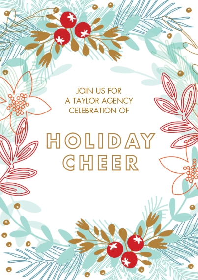 Holiday Photo Cards 5x7 Cards, Premium Cardstock 120lb, Card & Stationery -Modern Mistletoe