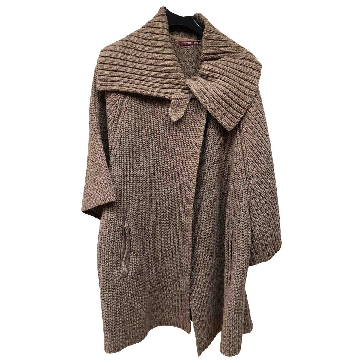 Comptoir Des Cotonniers - Pull   pour femme en laine - camel