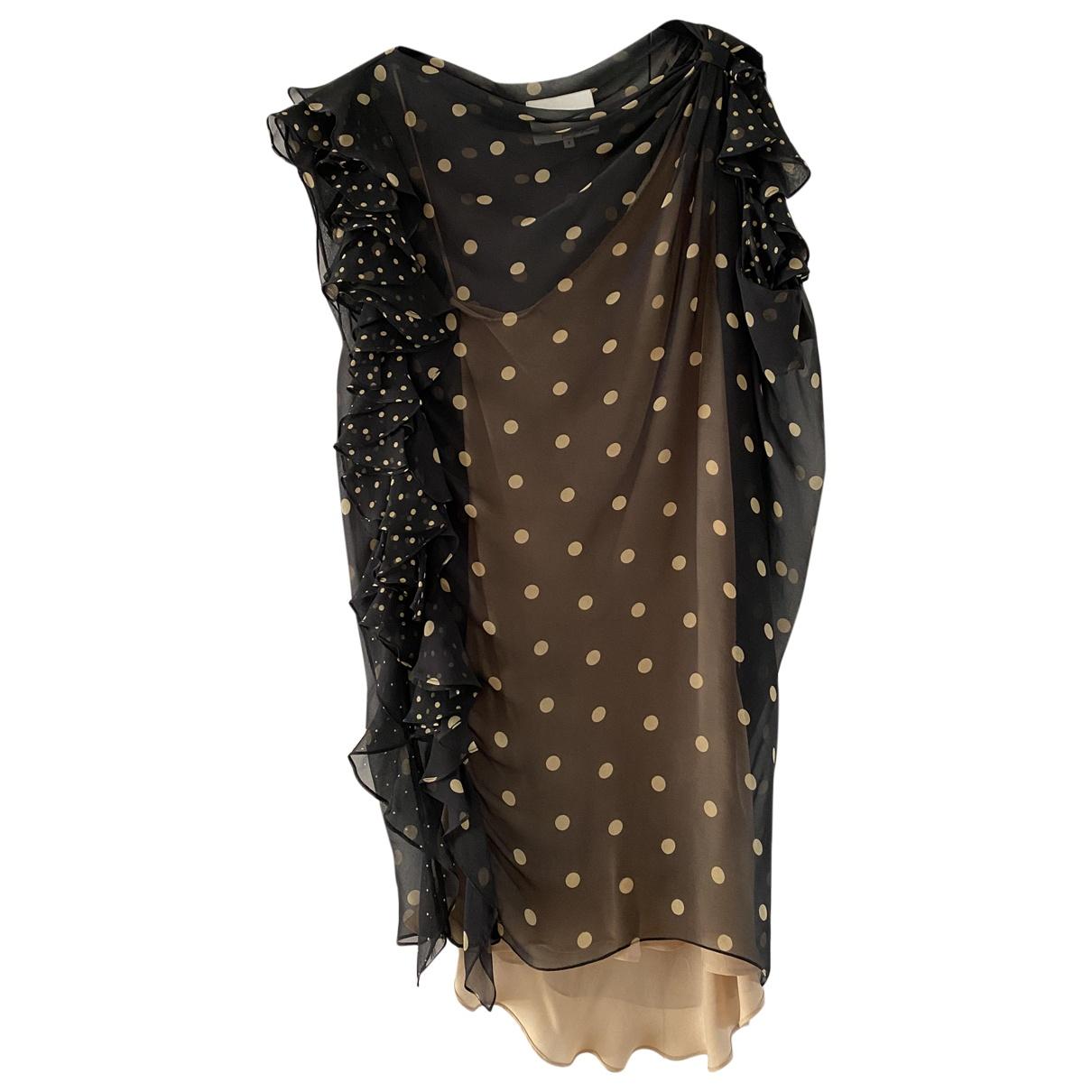3.1 Phillip Lim \N Kleid in  Schwarz Seide