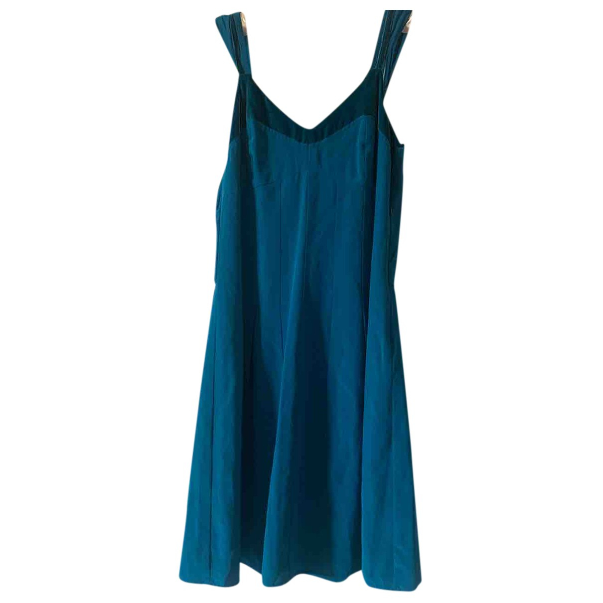Liu.jo N Green Silk dress for Women 40 IT