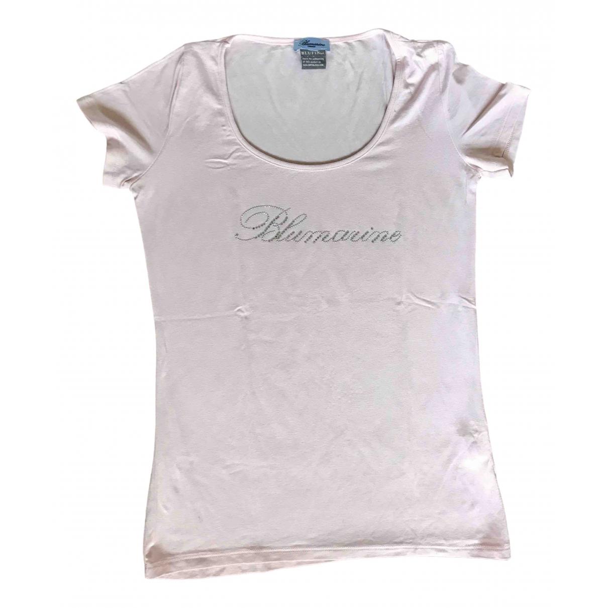 Blumarine \N Kleid in  Rosa Baumwolle