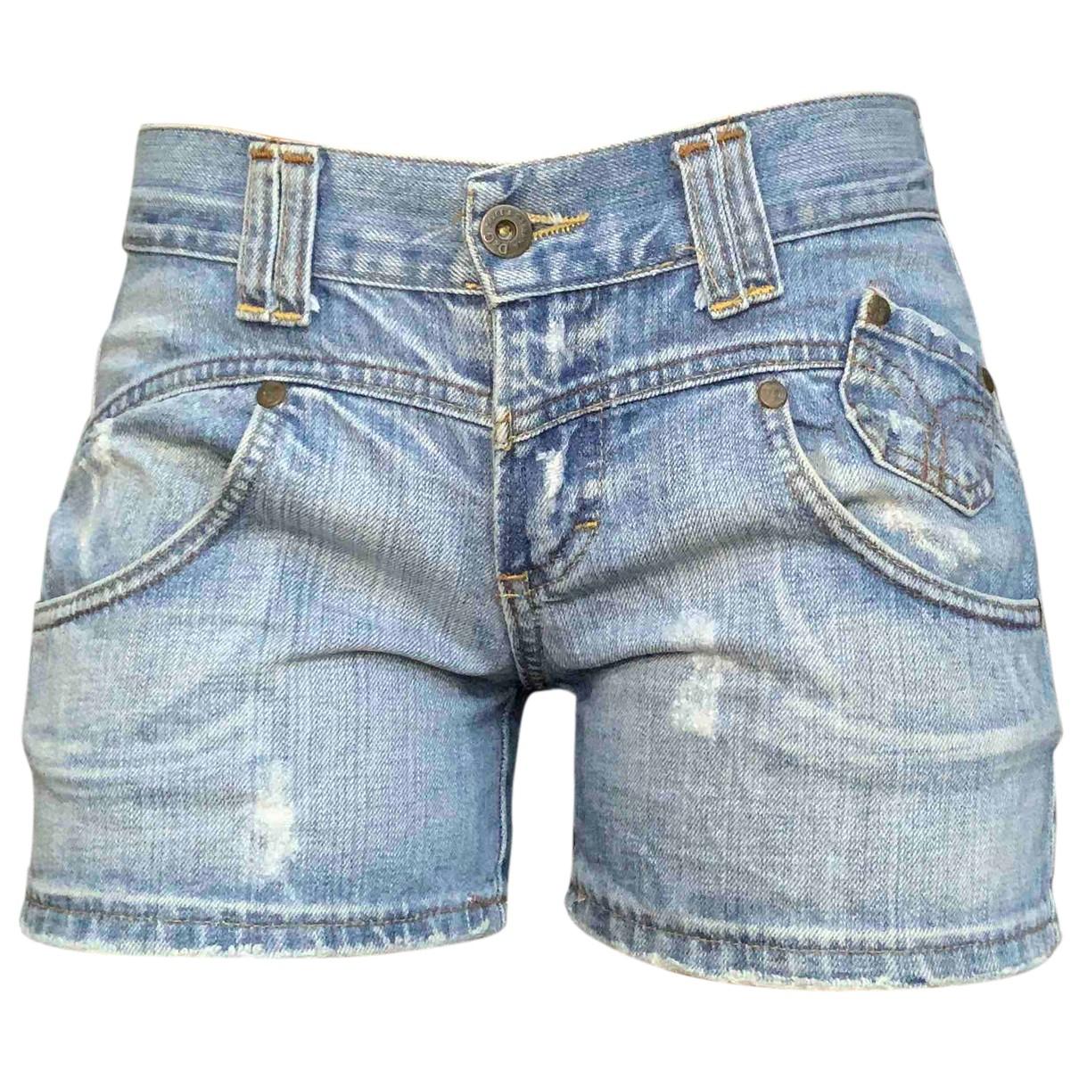 Dolce & Gabbana N Blue Denim - Jeans Shorts for Women 42 IT