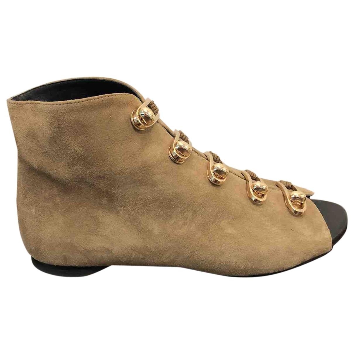 Stella Luna - Boots   pour femme en suede - camel