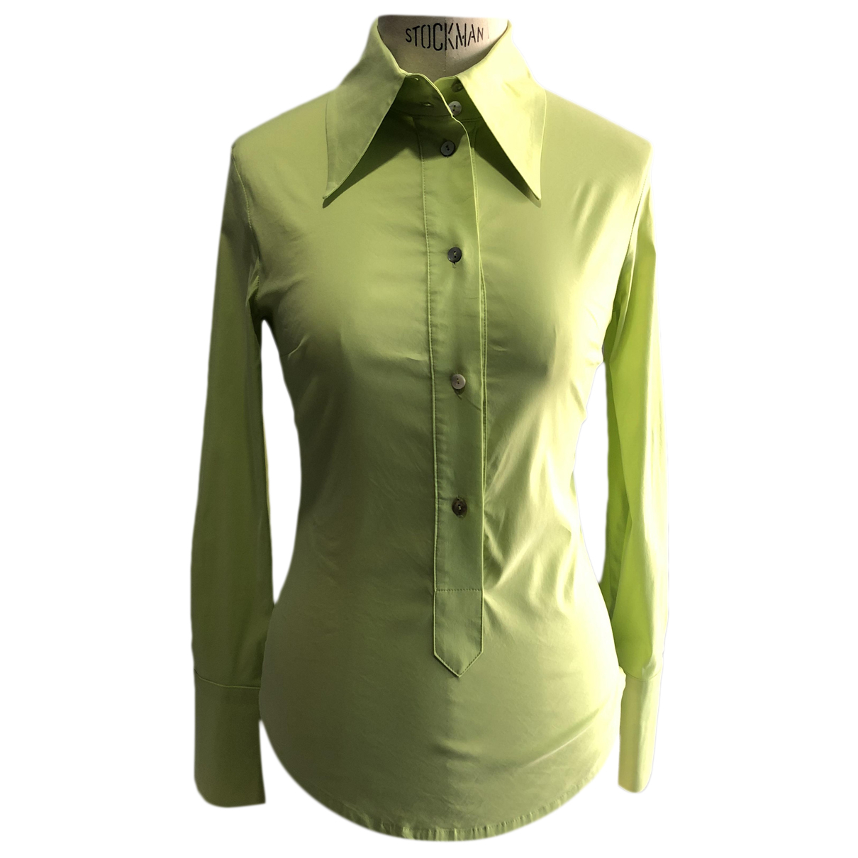 Flavio Castellani N Green Cotton  top for Women 40 IT