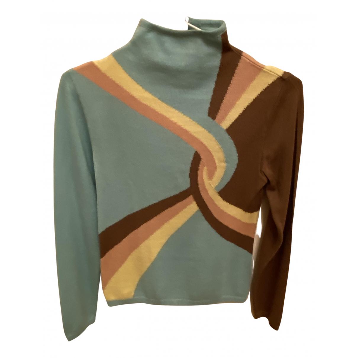 Gianni Versace N Multicolour Wool Knitwear for Women 38 IT