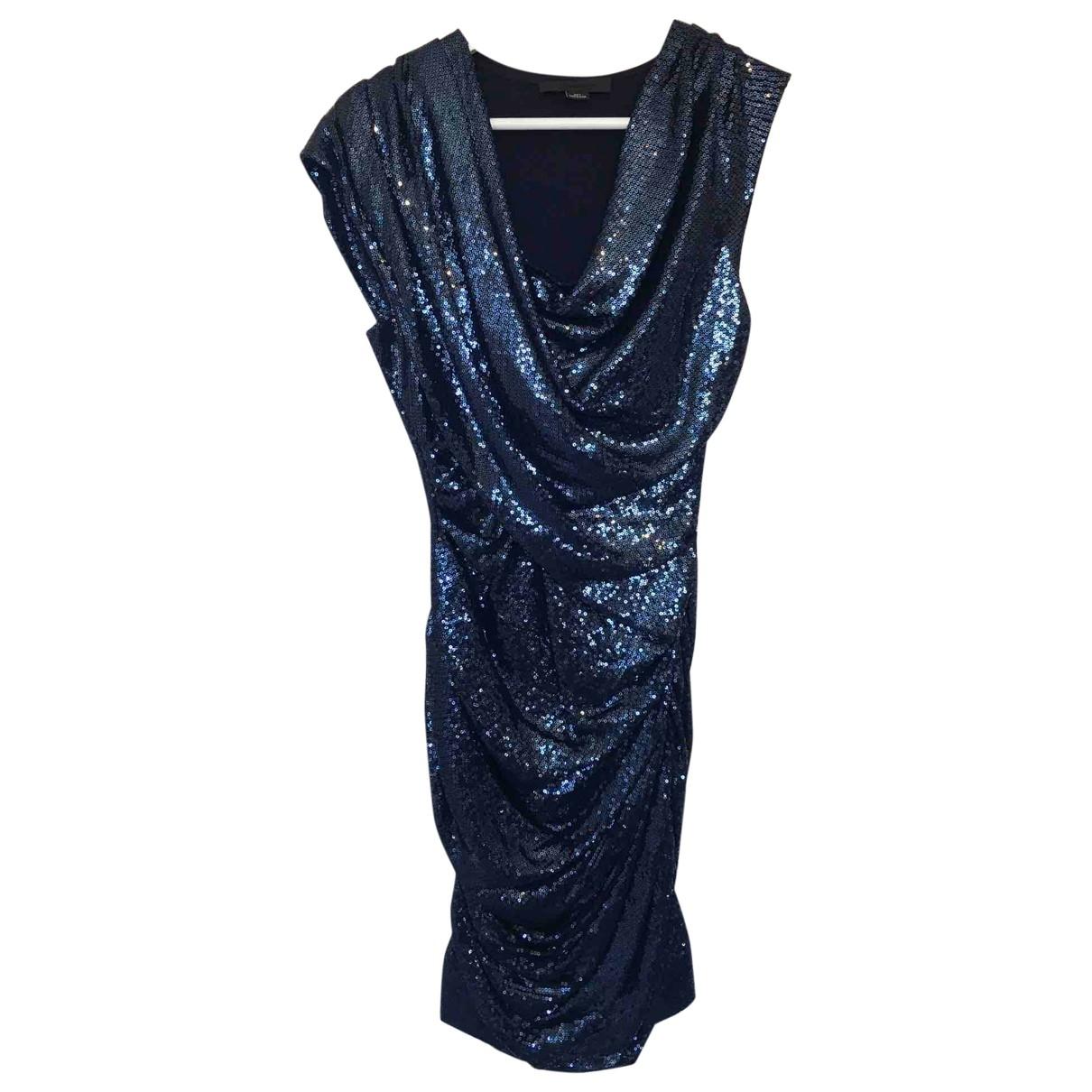 Alexander Wang \N Kleid in  Blau Synthetik