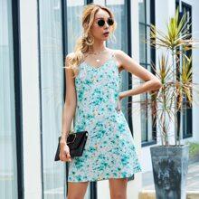 Tie Dye Slip Short Dress