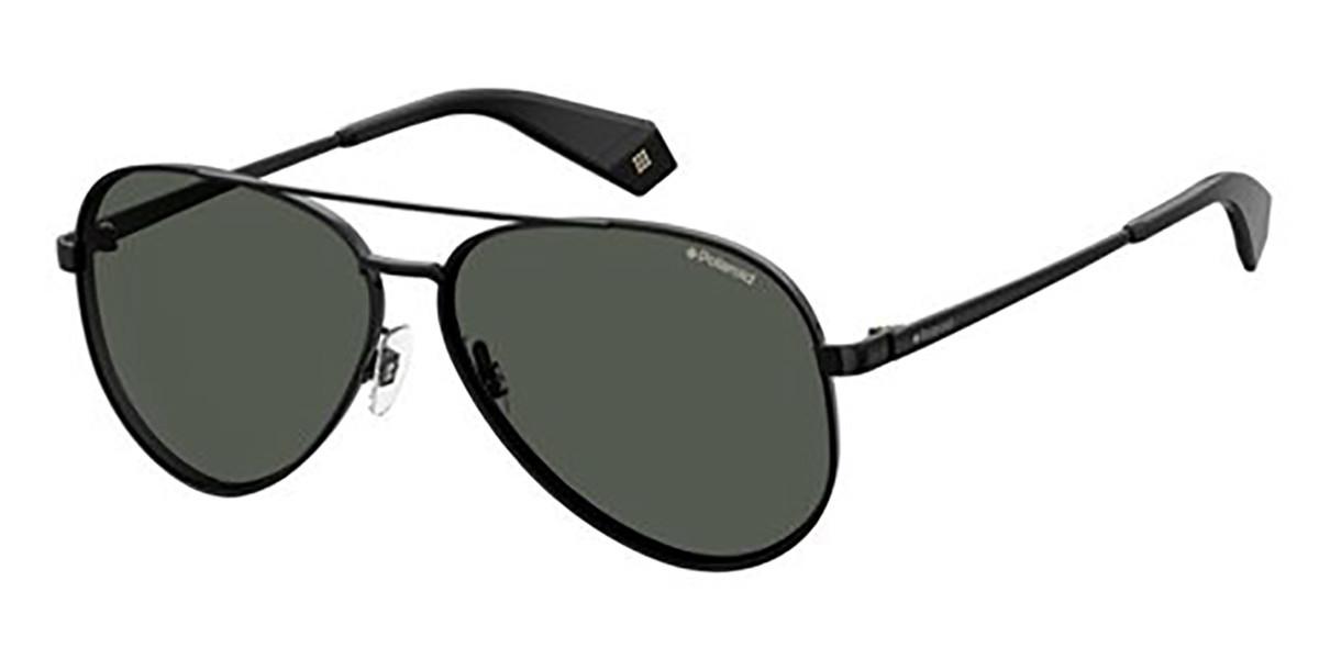 Polaroid PLD 6069/S/X 807 Women's Sunglasses Black Size 61