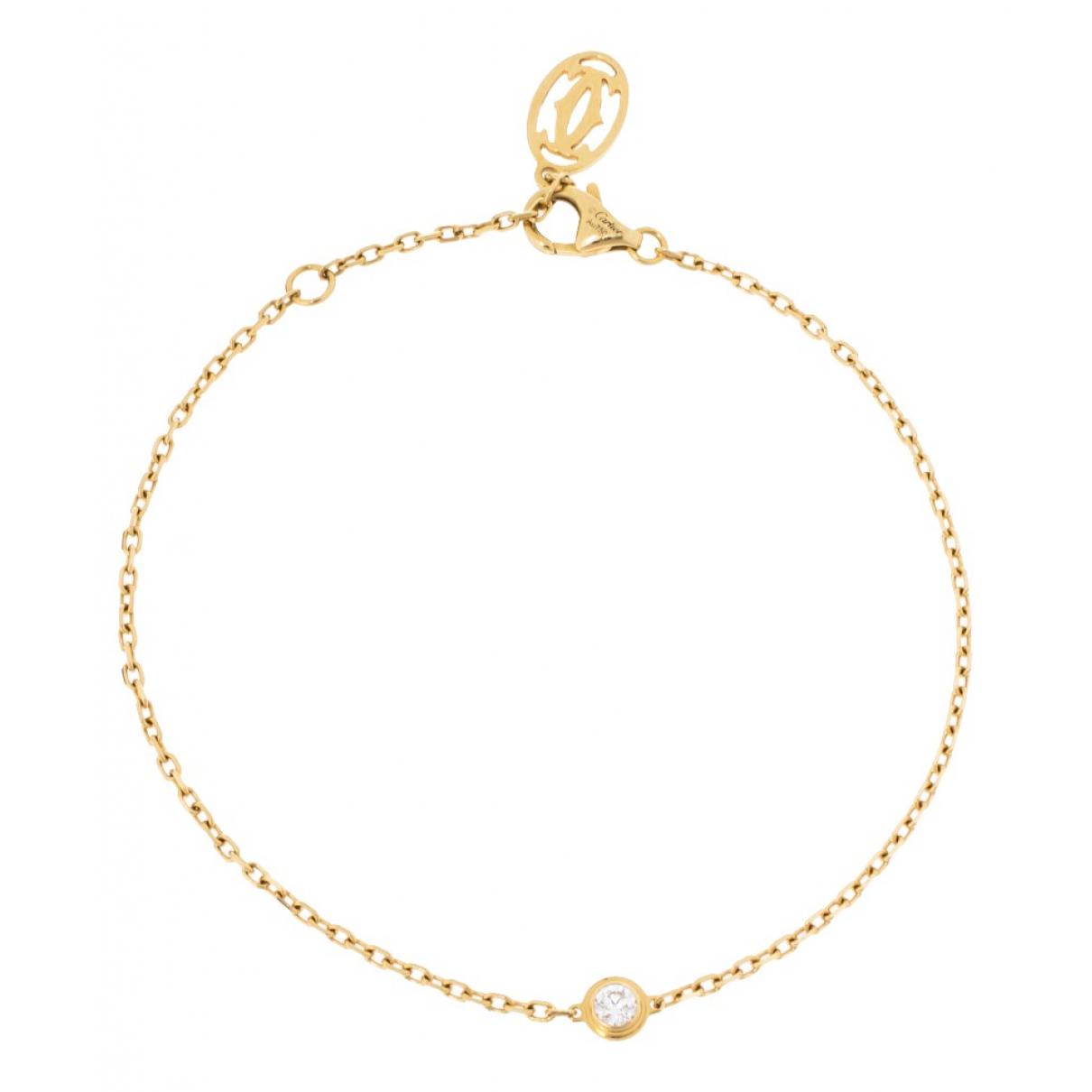 Cartier - Bracelet   pour femme en or jaune