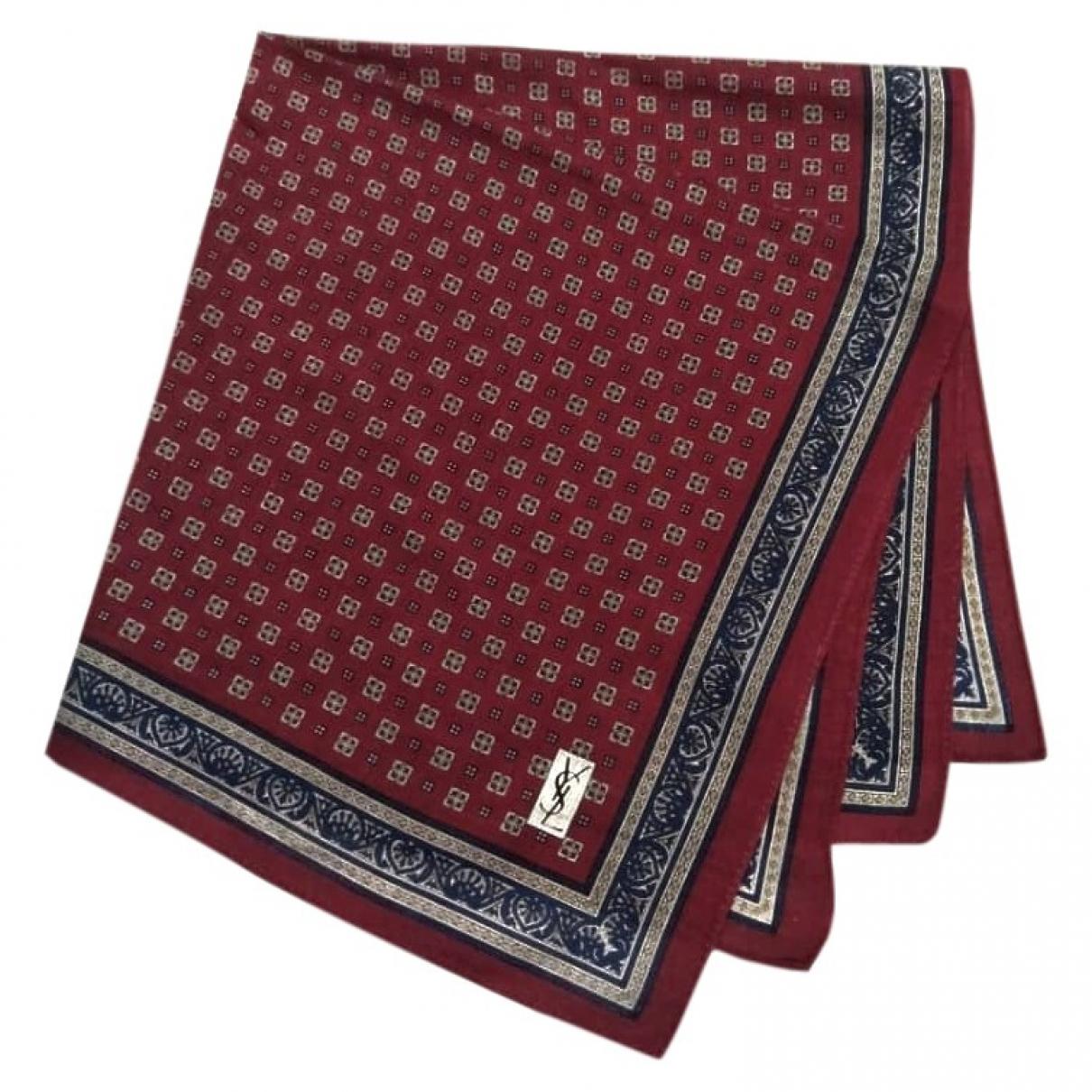 Yves Saint Laurent \N Multicolour Cotton Silk handkerchief for Women \N