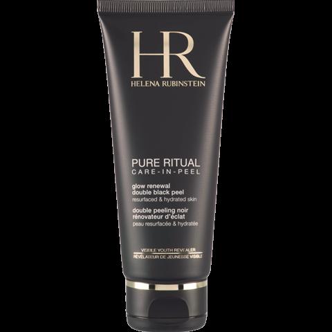 Pure Ritual Glow Renewal Double Black Peel