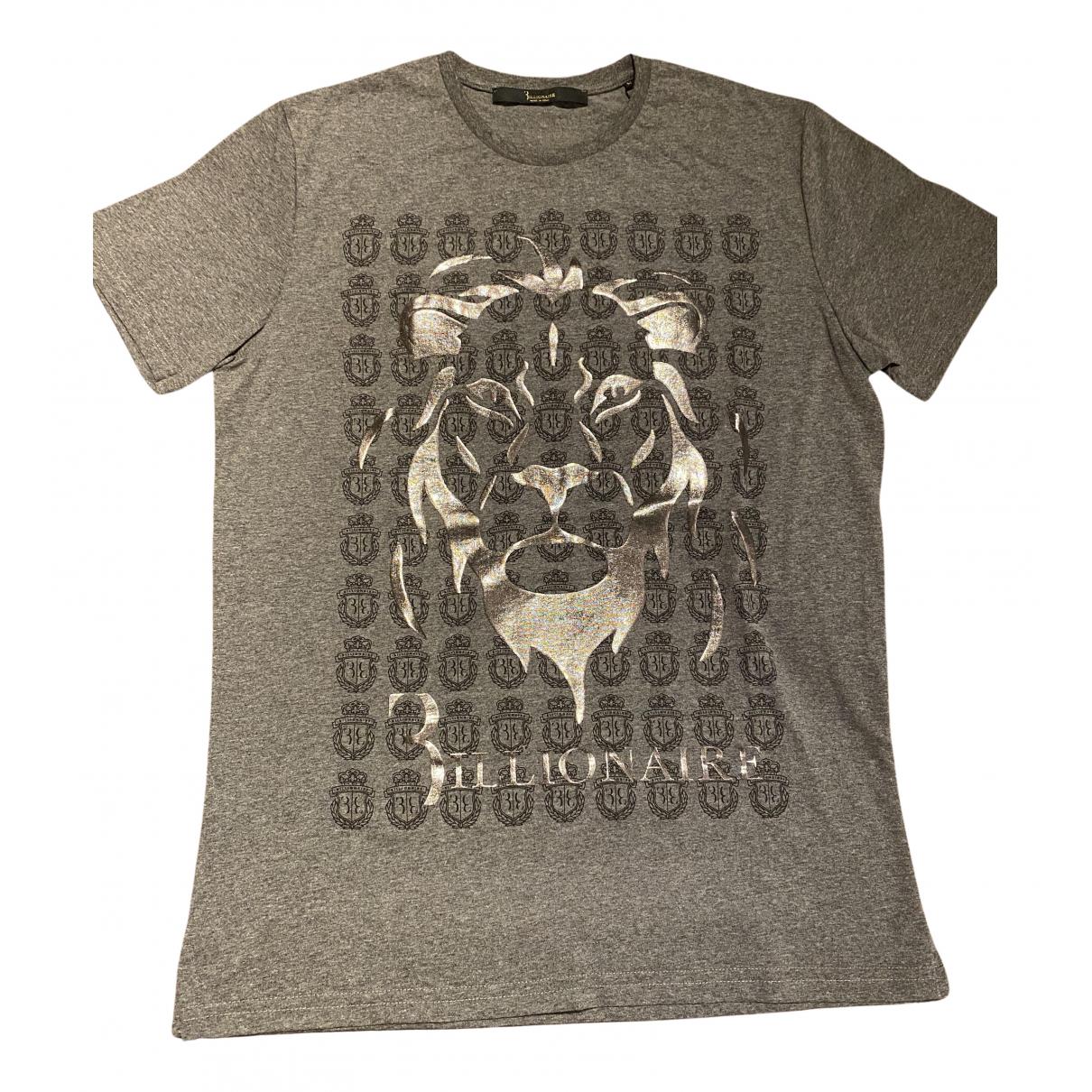 Billionaire Boys Club - Tee shirts   pour homme en coton - gris