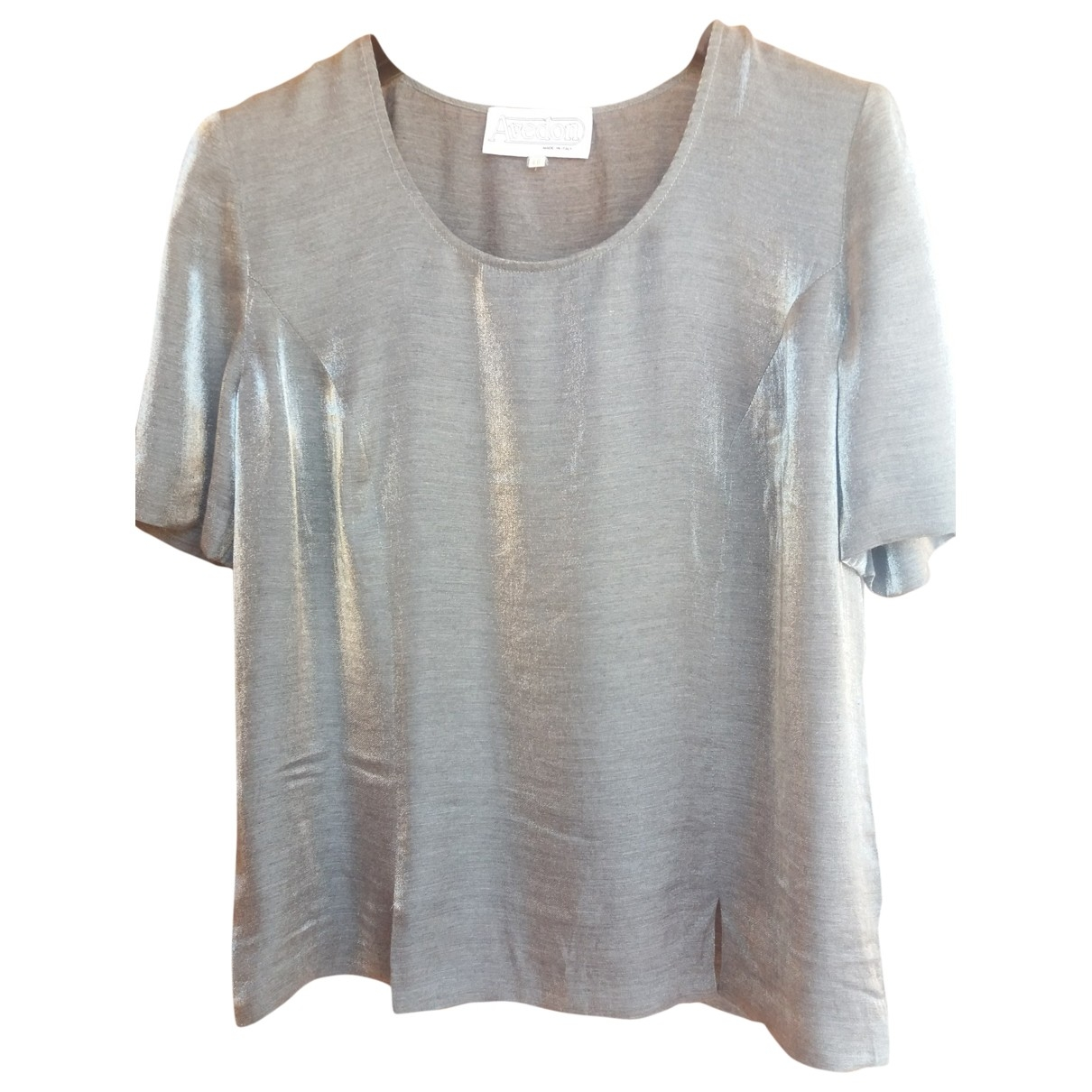Non Signé / Unsigned \N Grey  top for Women 46 IT
