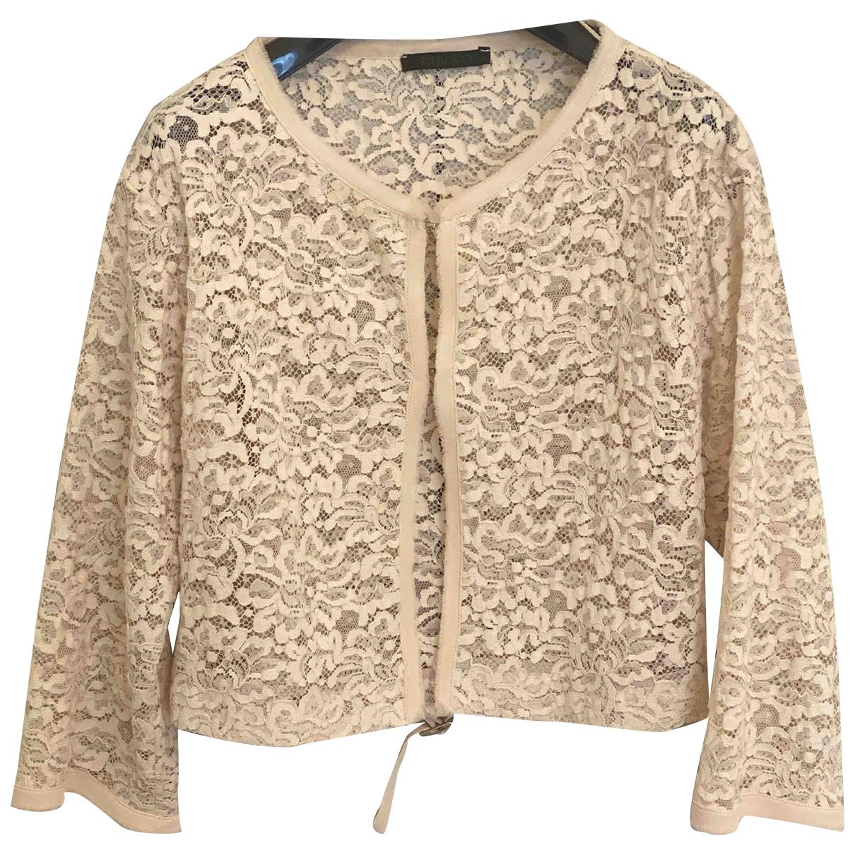 Pinko \N Ecru jacket for Women 44 IT