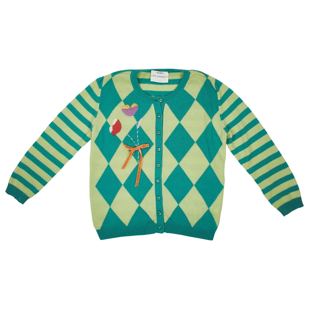 Max & Co \N Green Cashmere Knitwear for Women M International