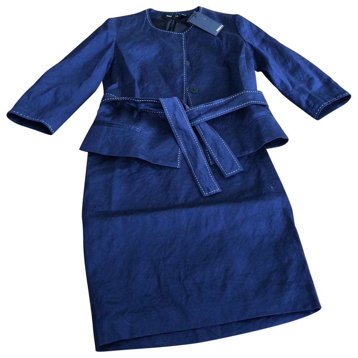 Paule Ka \N Blue Cotton jacket for Women 36 FR