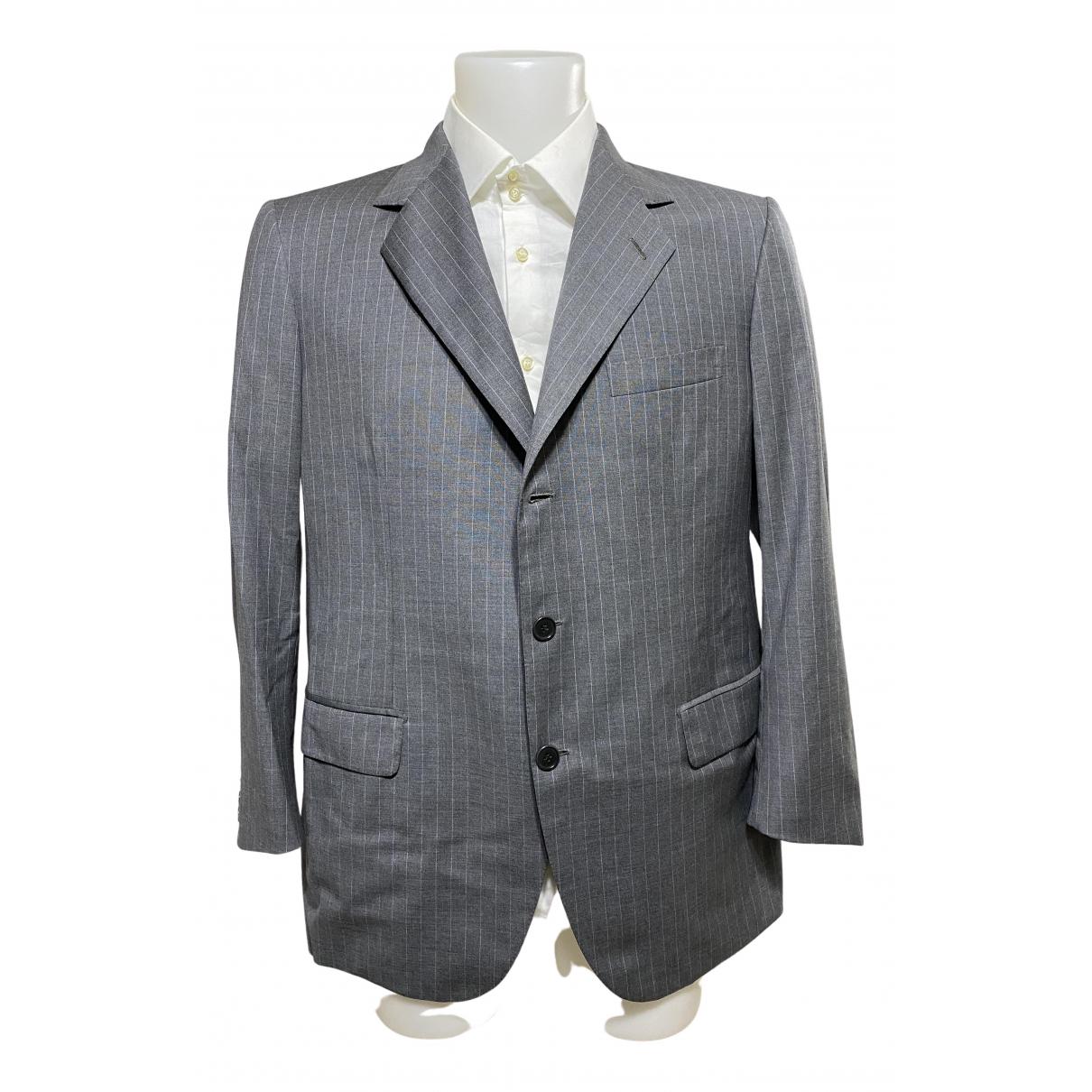 Brioni - Costumes   pour homme en soie - gris