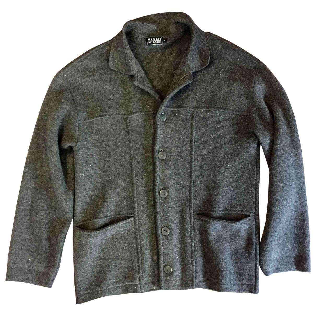 Non Signé / Unsigned \N Grey Wool Knitwear & Sweatshirts for Men M International