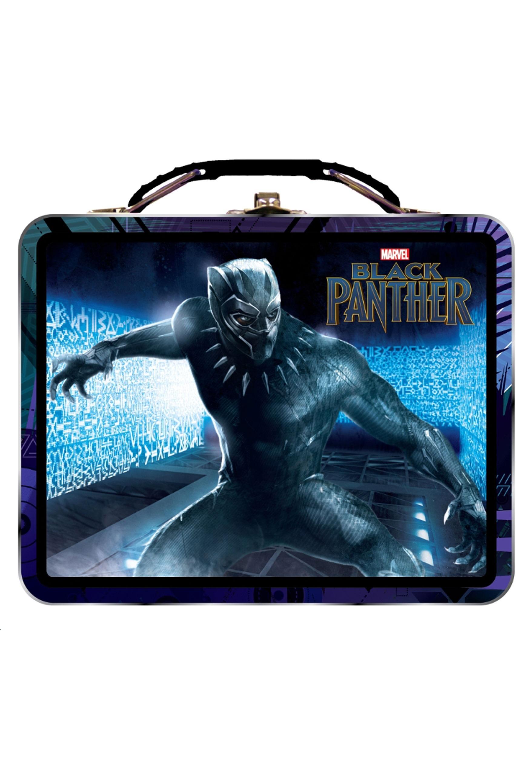 Marvel Black Panther Tin Lunchbox