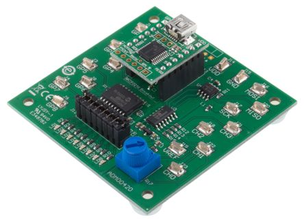Microchip USB to SPI Evaluation Board, MCP2210 - ADM00421