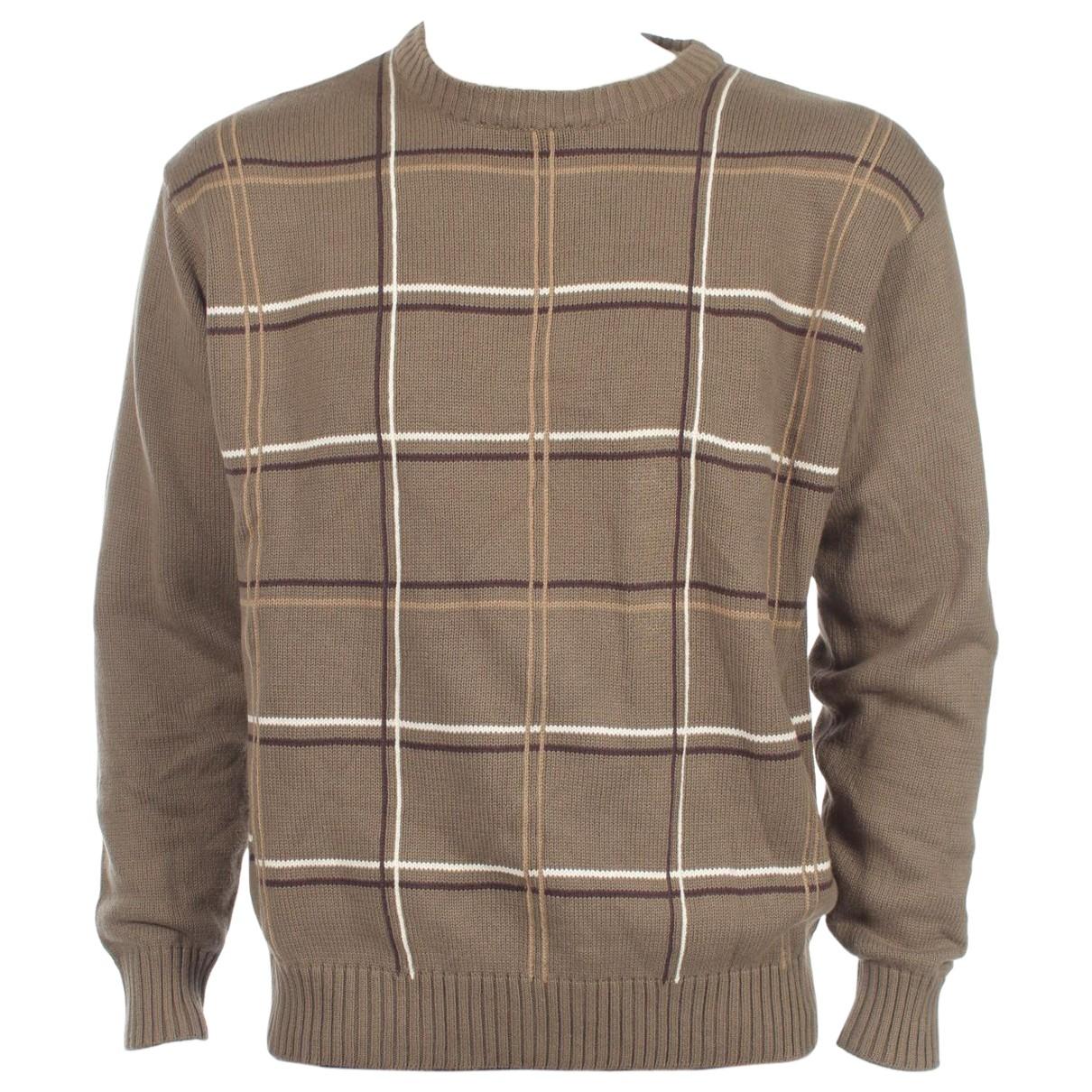 Oscar De La Renta \N Pullover.Westen.Sweatshirts  in  Gruen Baumwolle