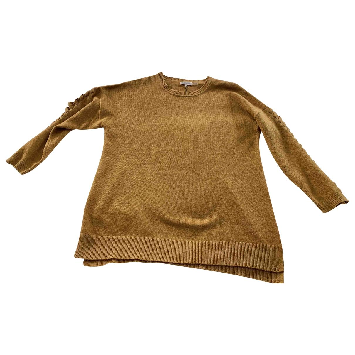 Calvin Klein - Pull   pour femme en coton - beige