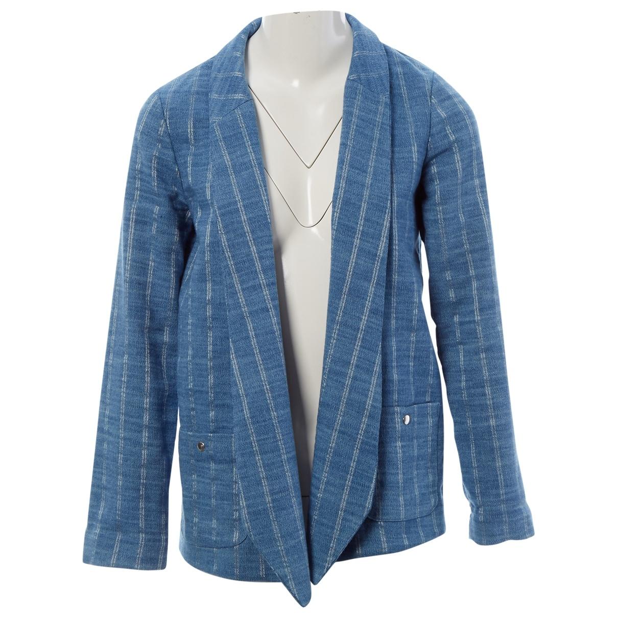 Roseanna \N Blue Denim - Jeans jacket for Women 38 FR