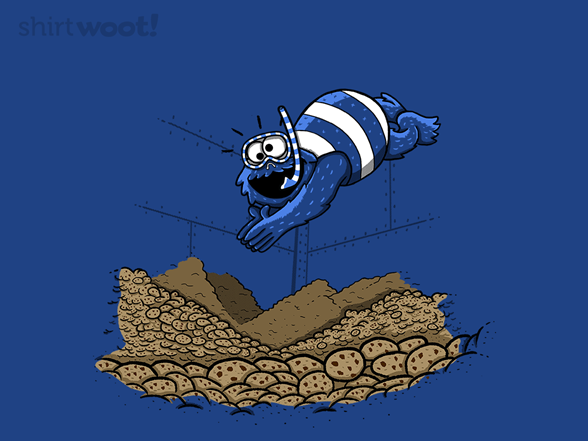 Cookie Diving T Shirt