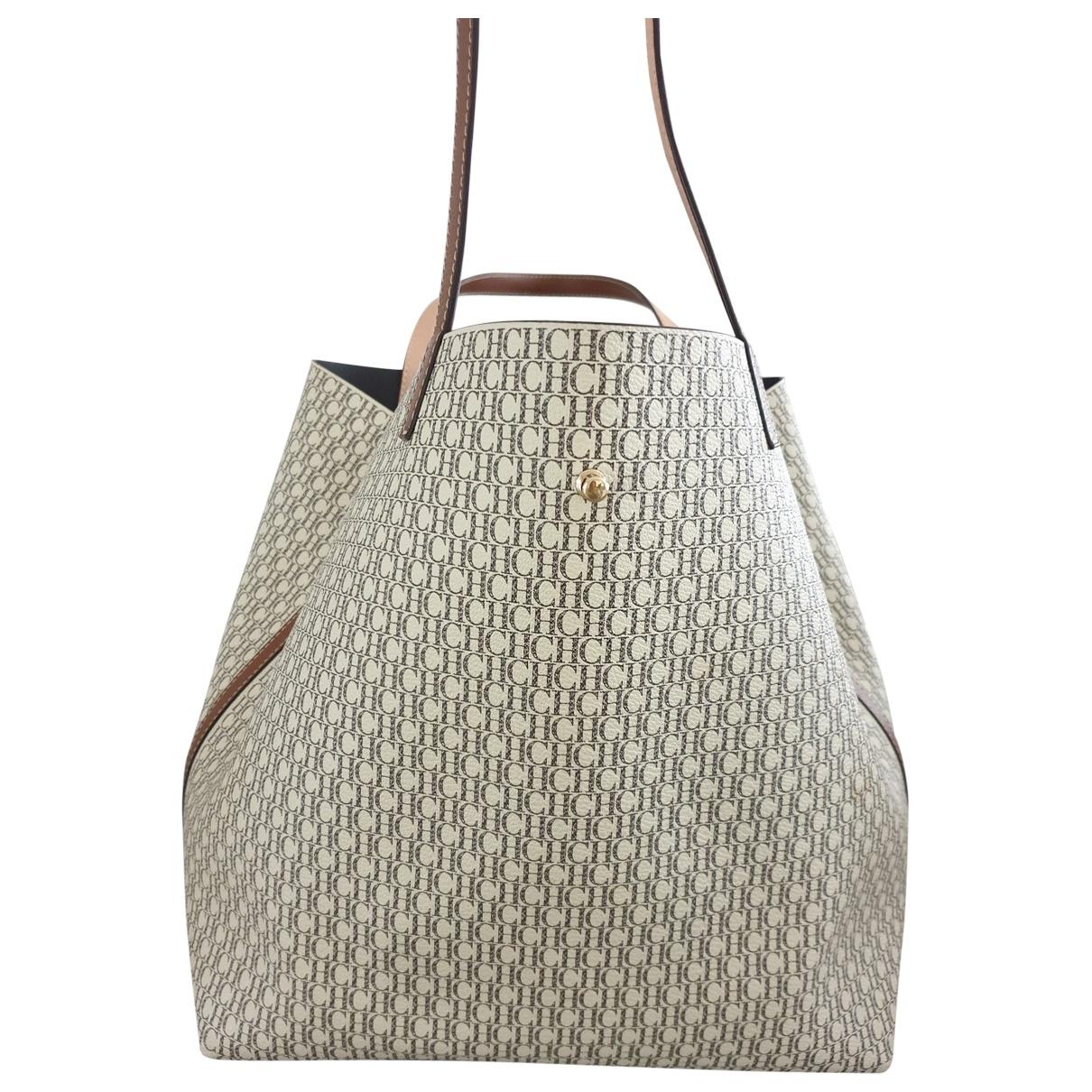 Carolina Herrera \N Beige Faux fur handbag for Women \N