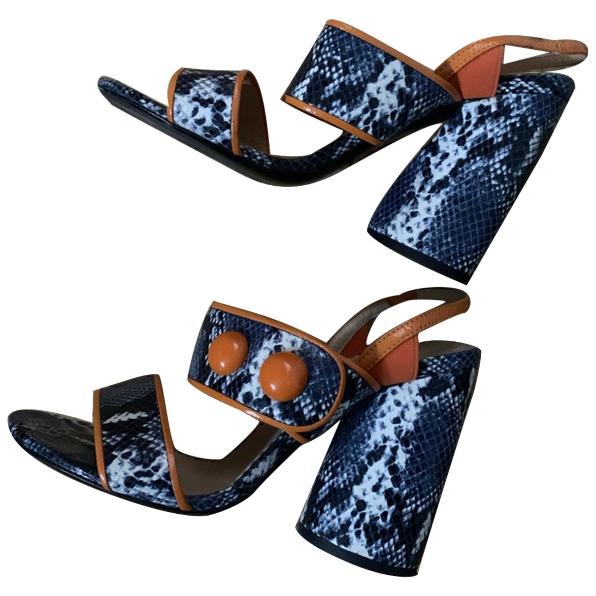 Tara Jarmon \N Leather Sandals for Women 39 EU