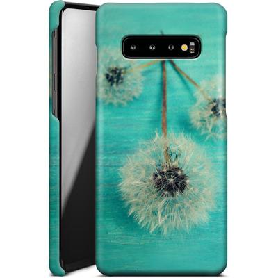Samsung Galaxy S10 Plus Smartphone Huelle - Three Wishes von Joy StClaire