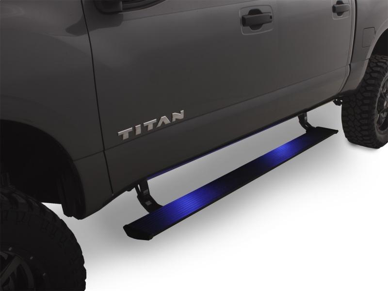 AMP Research 76120-01A PowerStep Plug N Play Black Nissan Titan | Titan XD 2016-2017