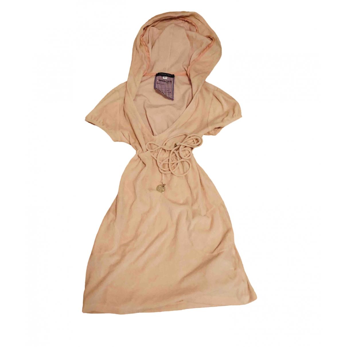 Patrizia Pepe - Robe   pour femme en eponge - rose