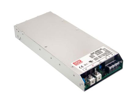 Mean Well , 1.2kW Embedded Switch Mode Power Supply SMPS, 12V dc, Enclosed