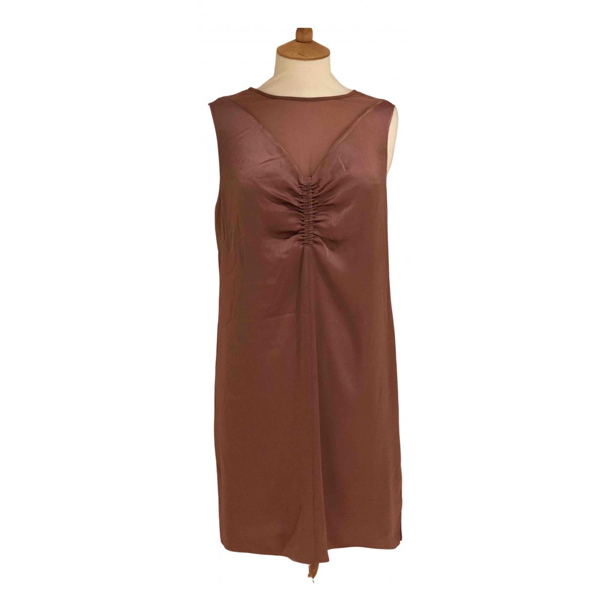 All Saints \N Kleid in  Rosa Synthetik