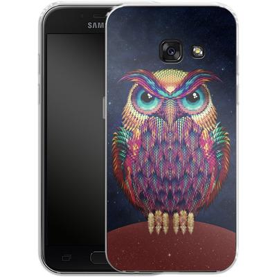 Samsung Galaxy A3 (2017) Silikon Handyhuelle - Owl von Ali Gulec