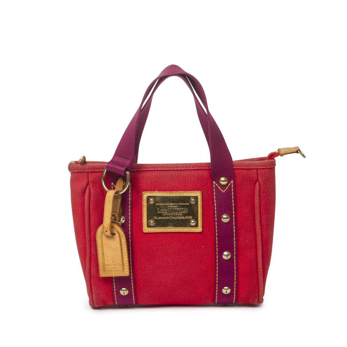 Louis Vuitton Antigua Handtasche in Leder