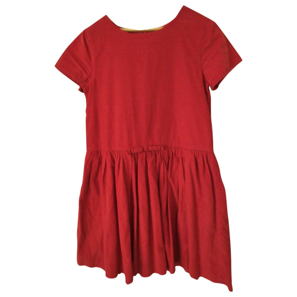 Jacadi - Robe    pour enfant en coton - rouge