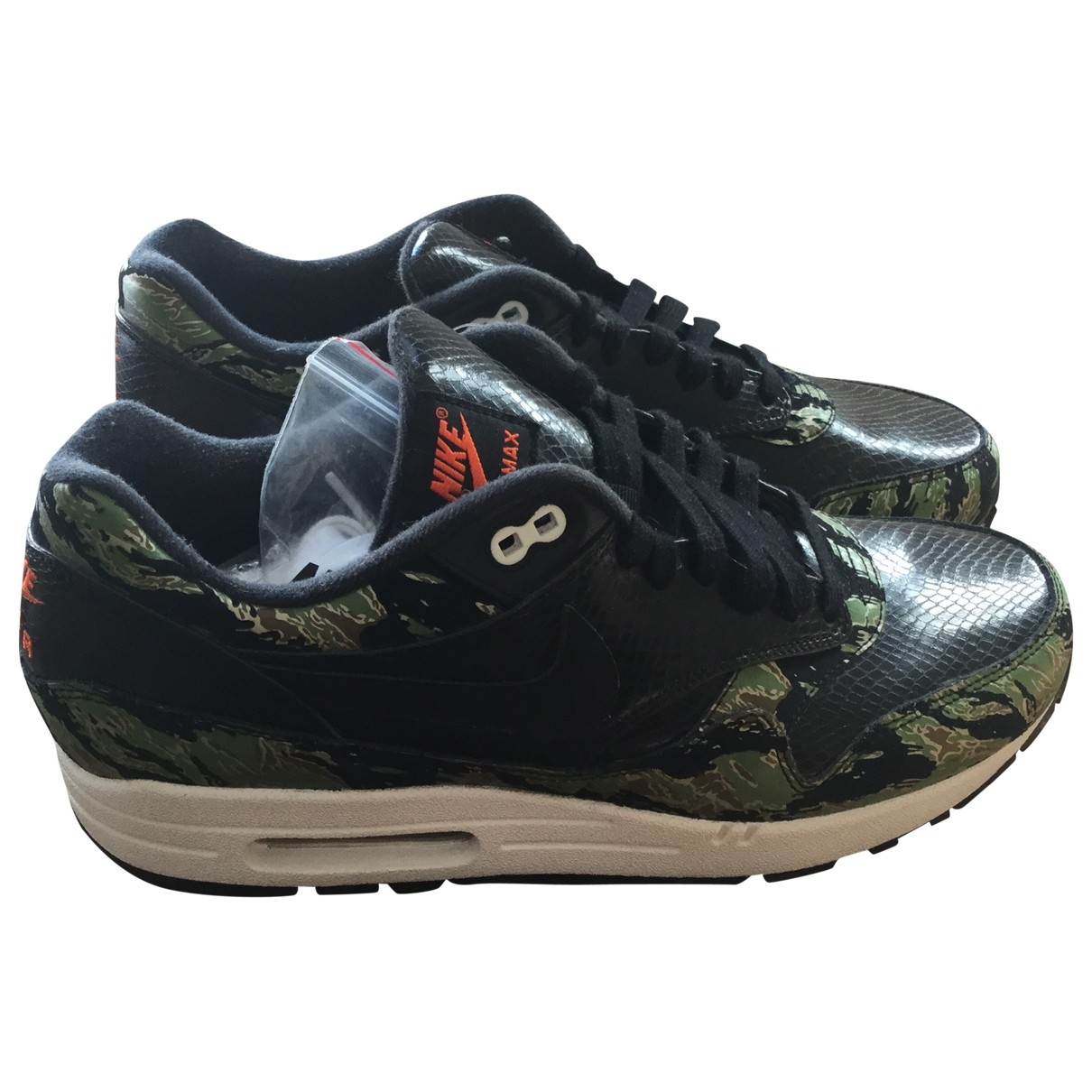 Nike Air Max 1 Black Exotic leathers Trainers for Men 44 EU