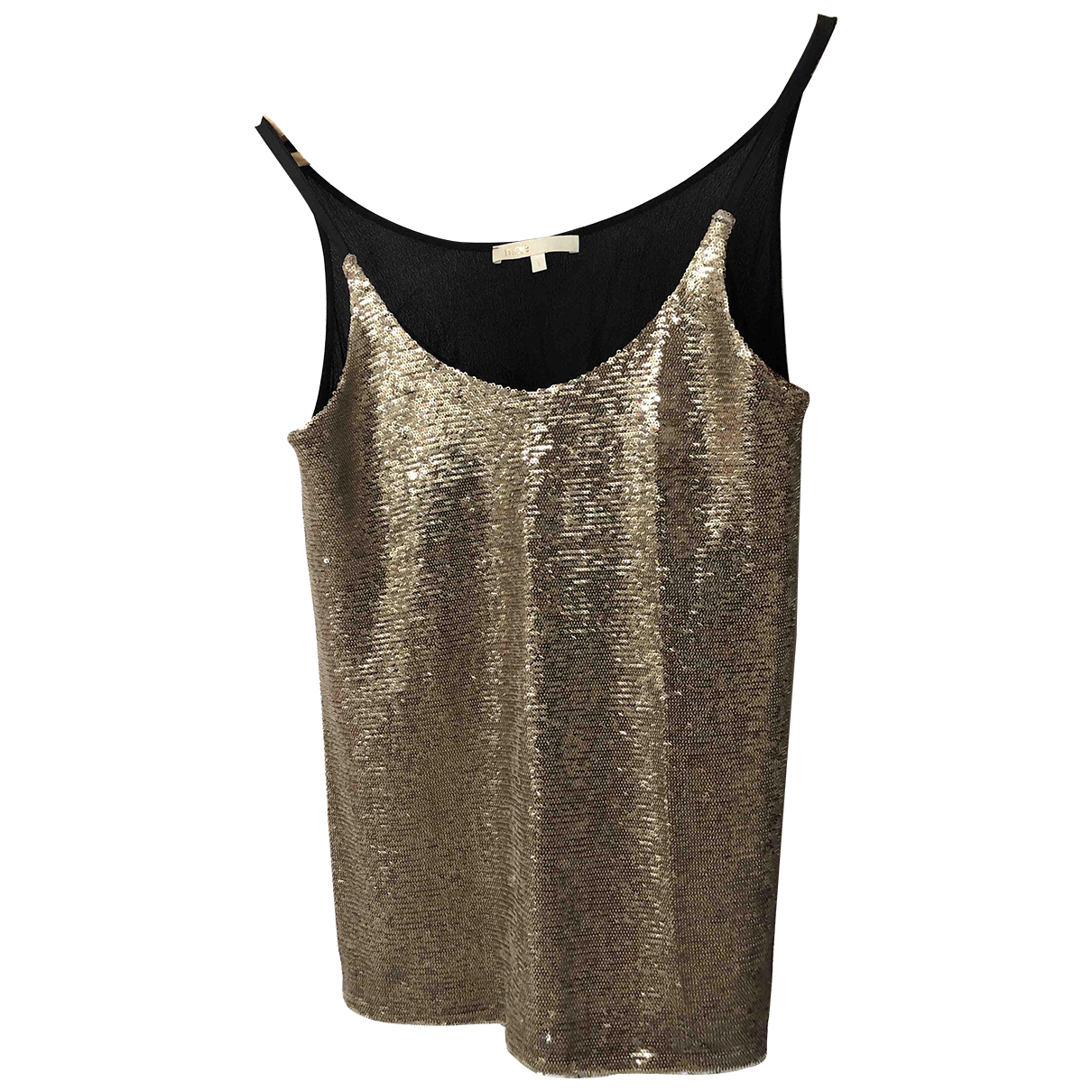 Maje \N Gold Glitter  top for Women 36 FR