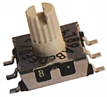 Hartmann , 16 Position, Hexadecimal Complement Rotary Switch, 100 mA @ 42 V, Through Hole (5)